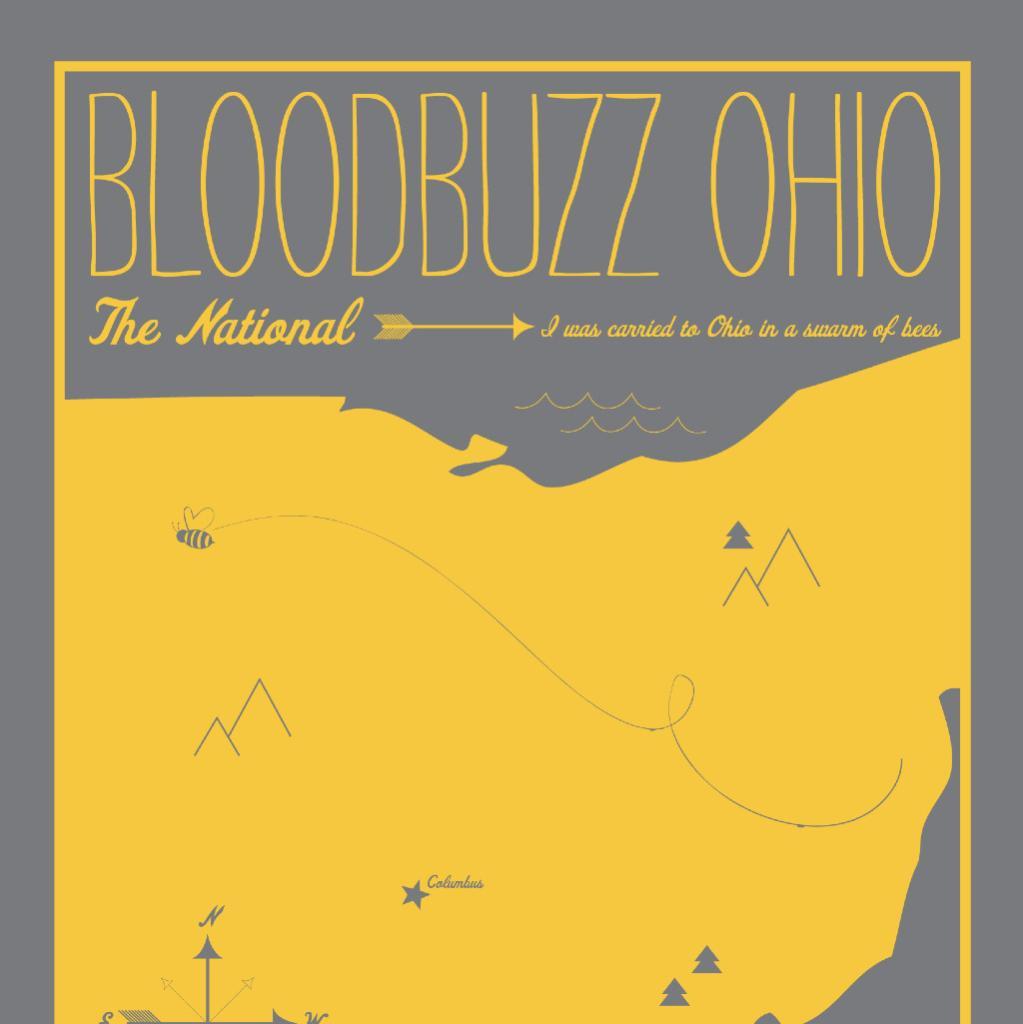 Details about  /Bloodbuzz Ohio Song Lyrics Blanket