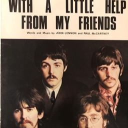 With A Little Help From My Friends - Song Lyrics and Music by The Beatles  arranged by BTS_jewel0111_WH on Smule Social Singing app